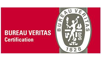 certifié par Bureau Véritas